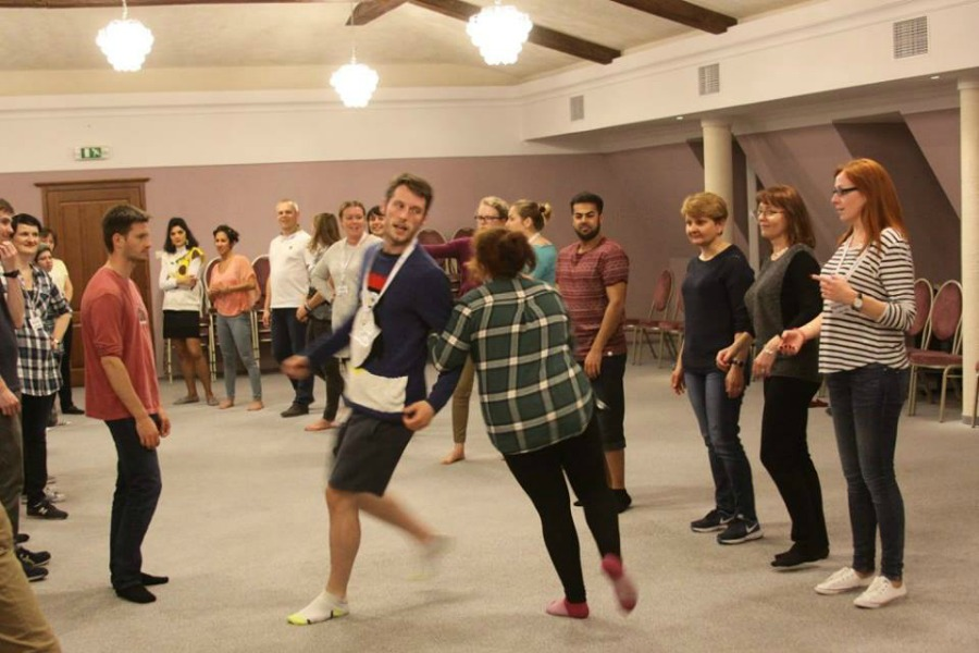 scottish dance angloville - Premier TEFL Stories: How John made a difference with the Anglo-TEFL Scholarship