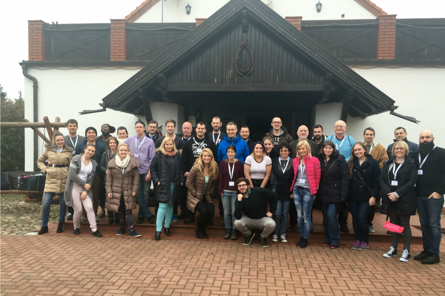 Angloville Group Photo 6 11 Mar 2016 - Premier TEFL Stories: Teaching and Travelling in Poland with Joseph Walker