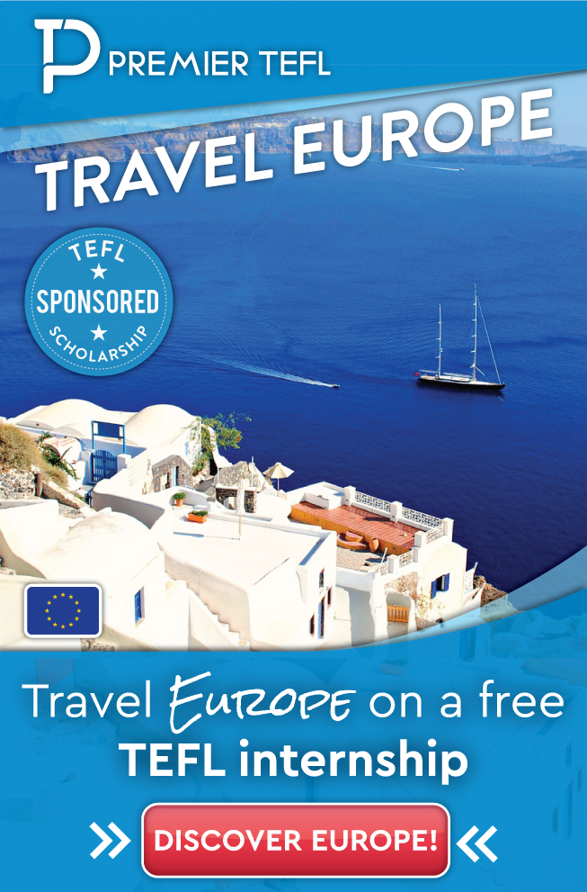 Travel Europe on a free TEFL internship