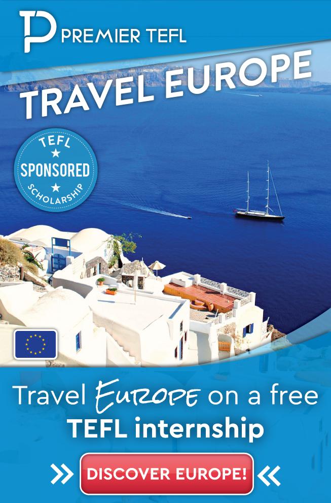 Travel Europe on a free TEFL internship