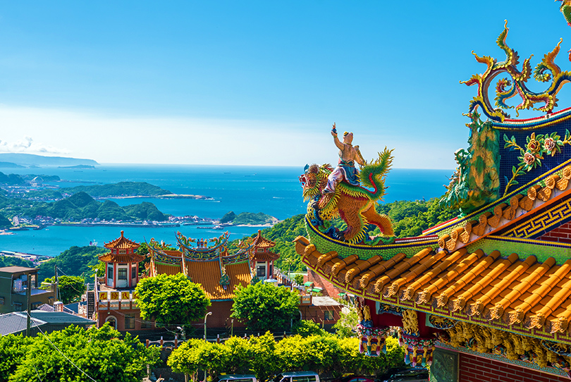 Temples in Taiwan.
