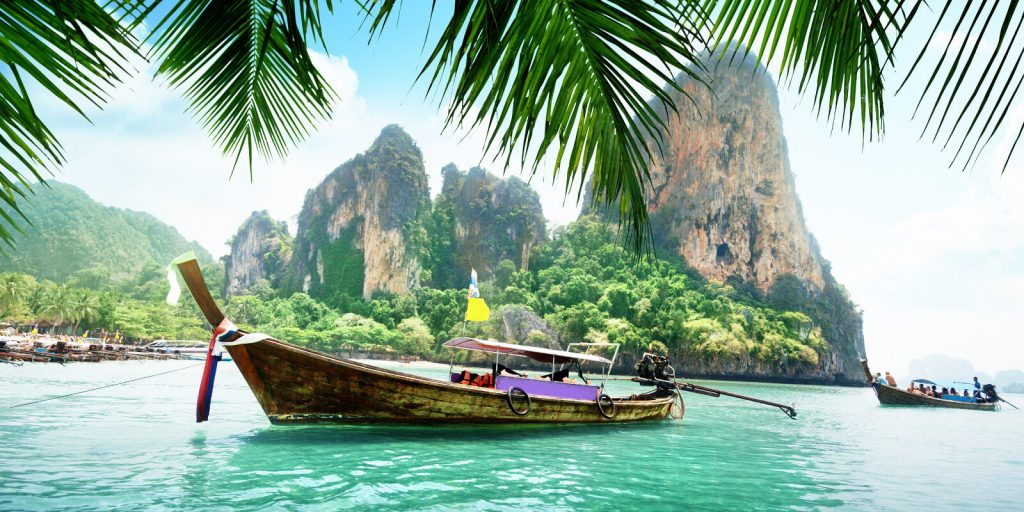 Boat in Thailand.