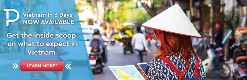 Vietnam tour banner.