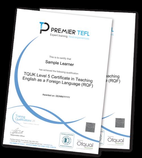 TQUK Certificate