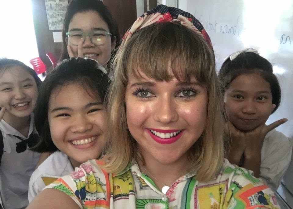 English teacher in Thailand