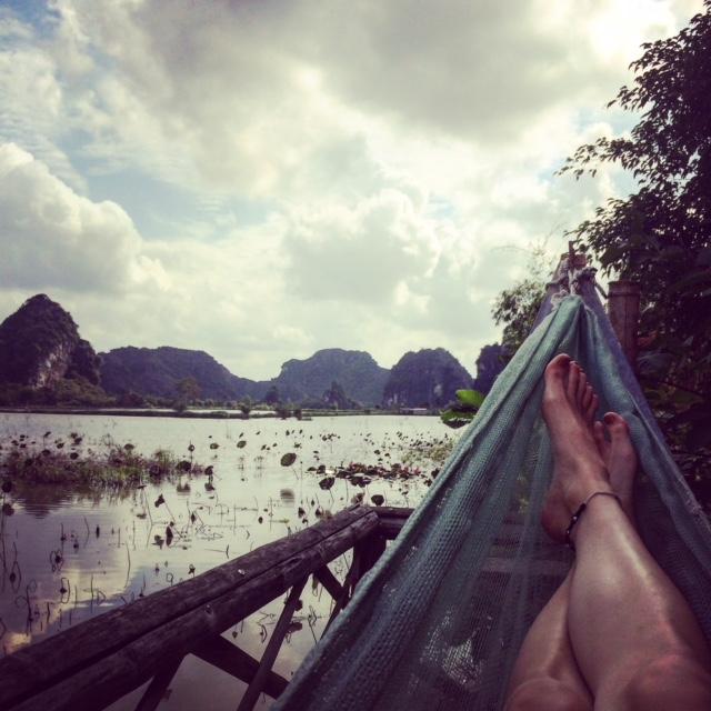 Hammock in Vietnam.