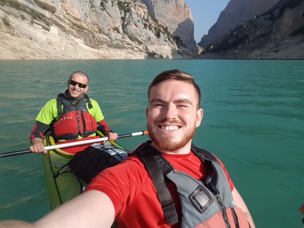 Kyaking 1024x768 - Sales Job To A New Life In Spain - Interview With Jamie Finlan