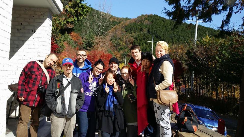 Mountian backdrop - The Life of Joe - Teaching English in Korea
