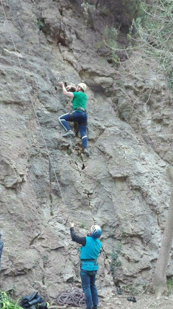 Rock climbing 2 575x1024 - Sales Job To A New Life In Spain - Interview With Jamie Finlan