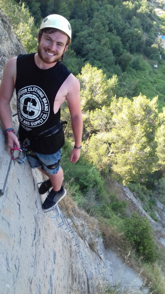 Rock climbing 576x1024 - Sales Job To A New Life In Spain - Interview With Jamie Finlan