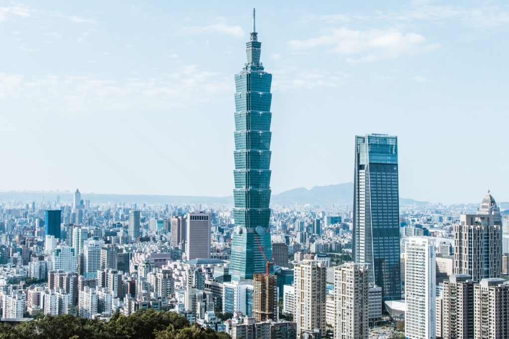 Taipei 101 1024x683 - 8 Must-See Places while Teaching in Taiwan