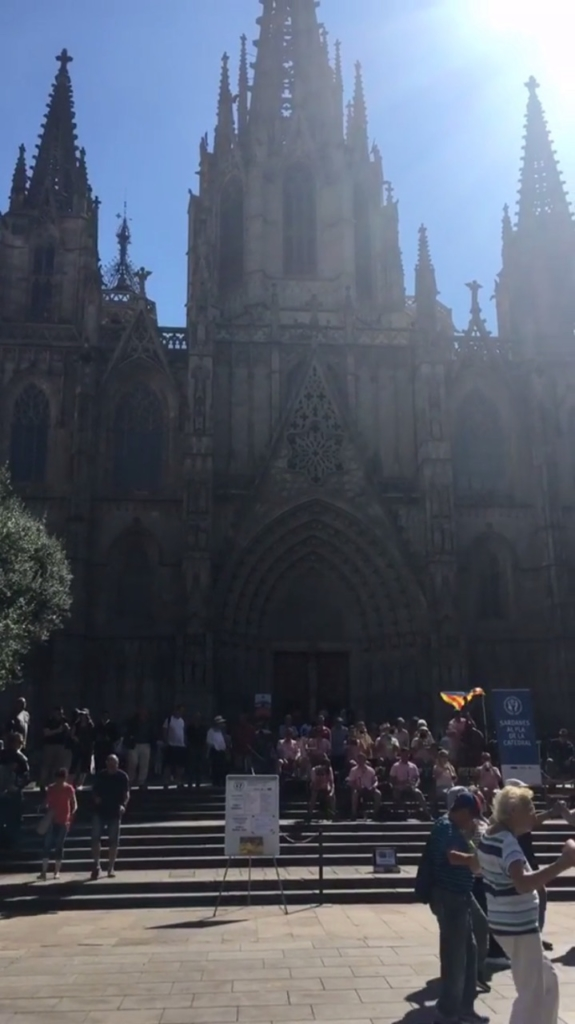 Cathedral 575x1024 - Barcelona or Bust - Interview with Maddie Scanlan
