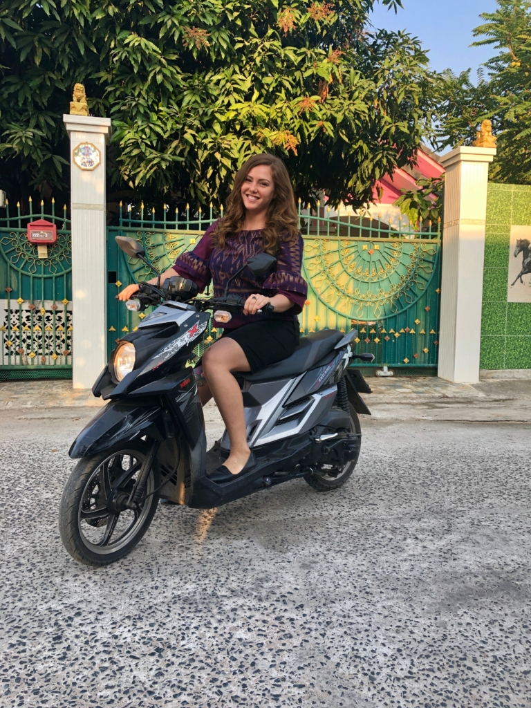 Motorbike 768x1024 - Interview with Brianna Flores in Thailand