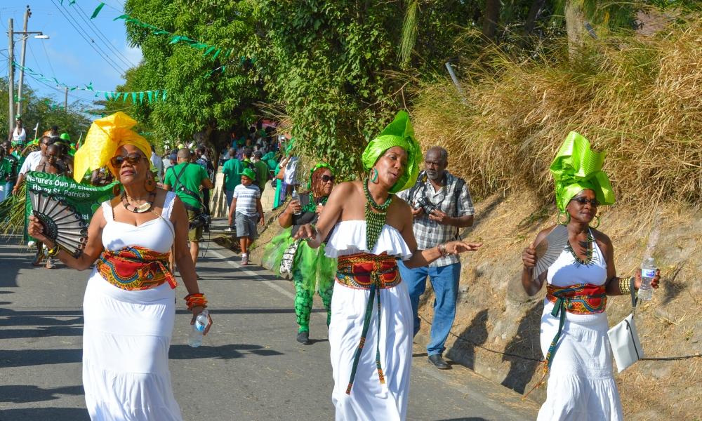 St. Patrick's in West Indies.