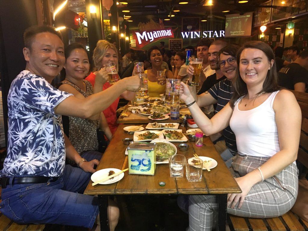Interns in Myanmar