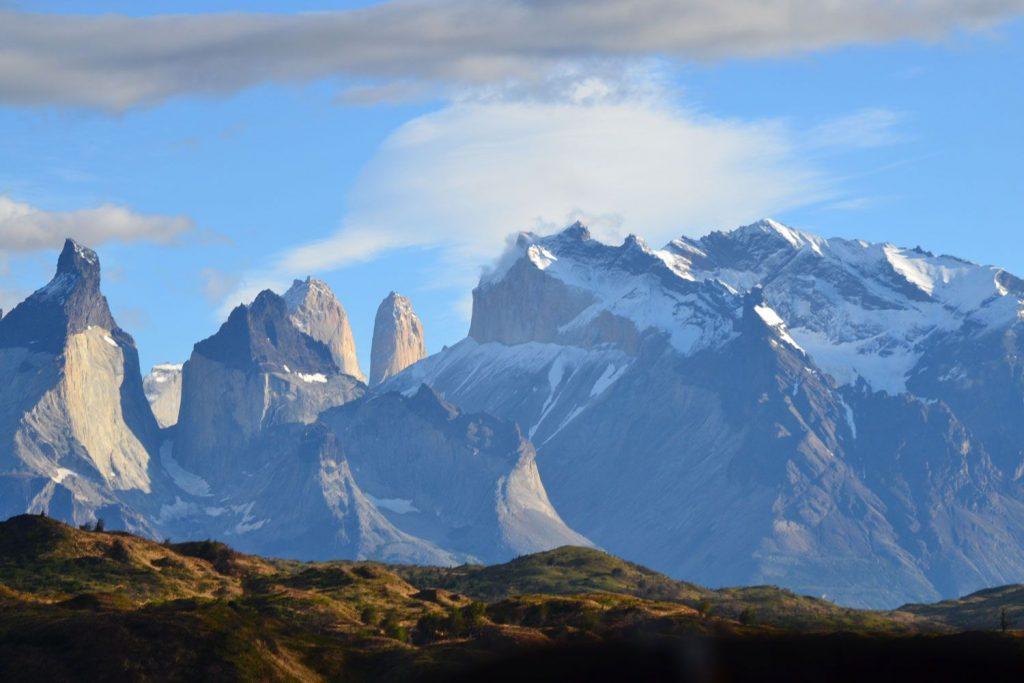 Chile mountain range
