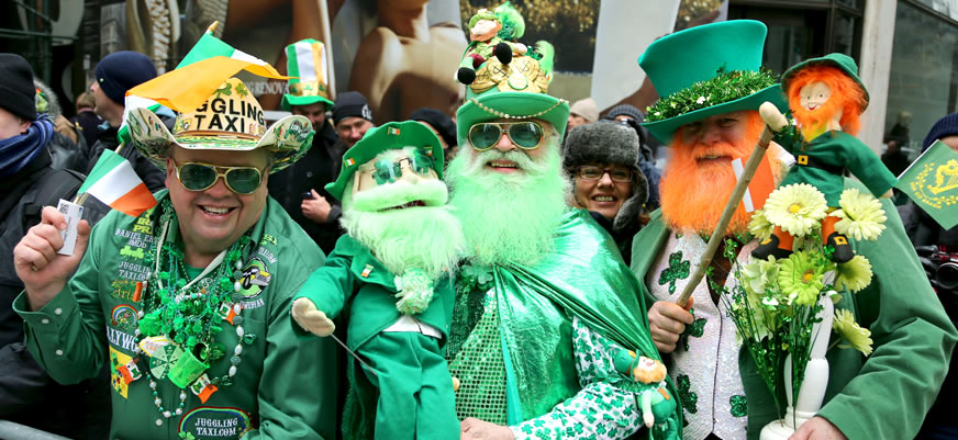 st patrick day in buenos aires - Top 5 Premier TEFL Recommended Paddy's Day Parades Across the World
