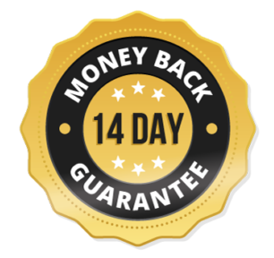 14 day money back guarantee