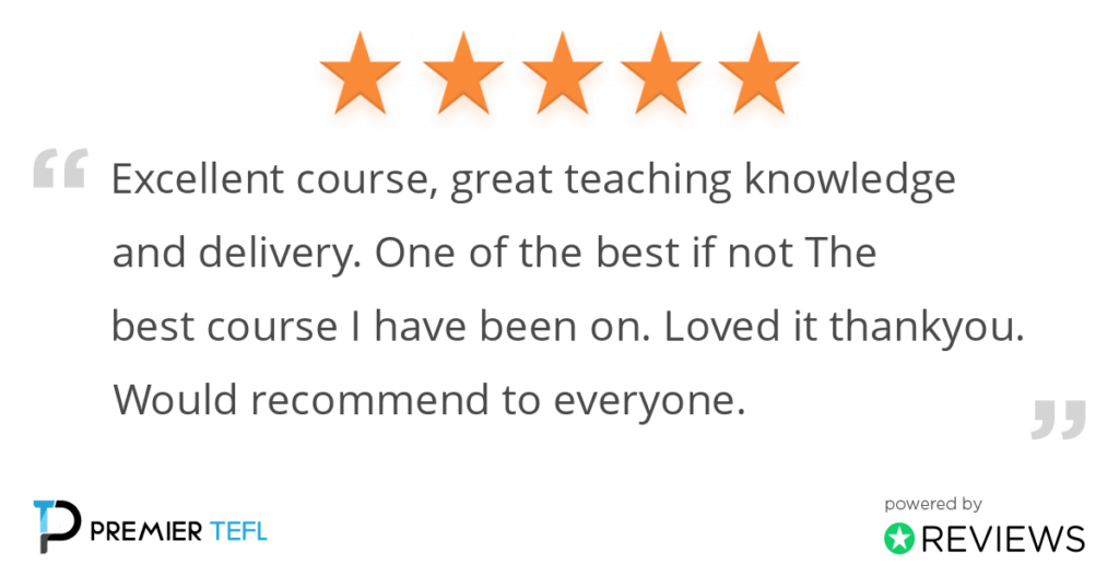 Review: Excellent course, great teaching knowledge and delivery. One of the best if not The best course I have been on. Loved it thank you. Would recommend to everyone.