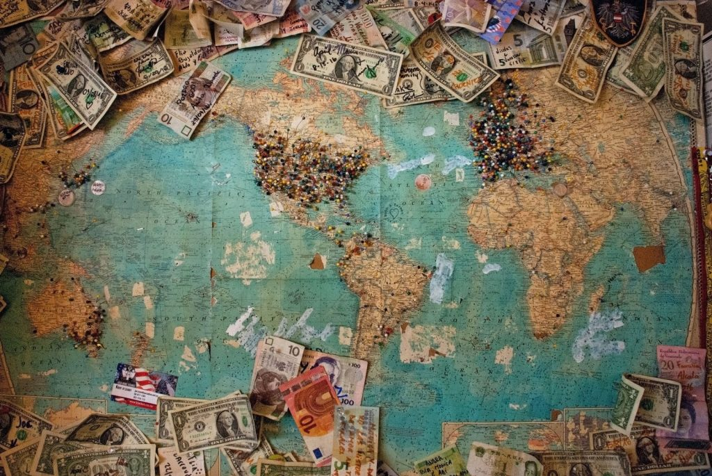 Map money 1024x685 - How Much to Budget for Teaching English in China