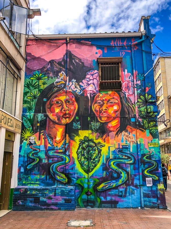 Colombian Mural