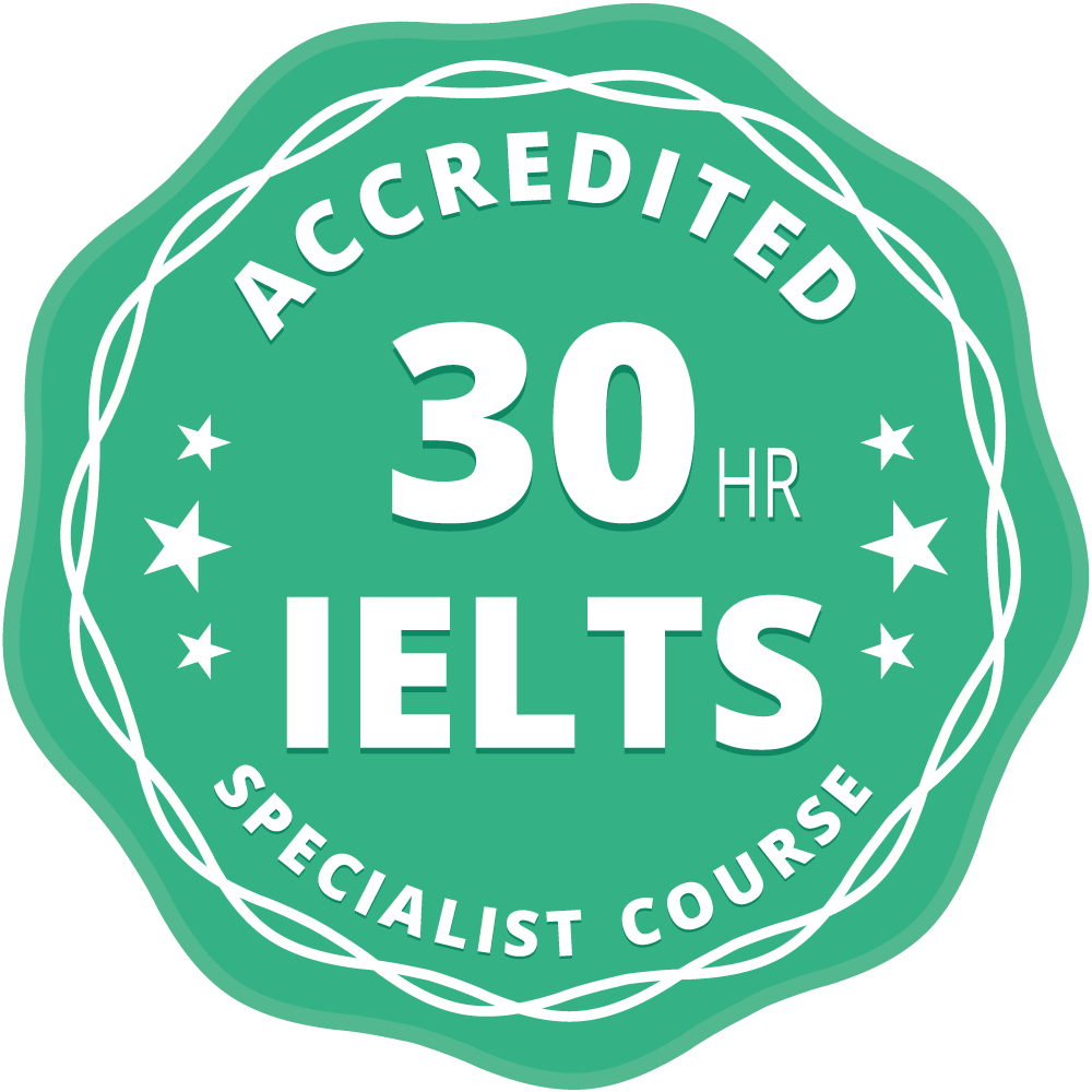 Image for Specialist IELTS exam teacher training course. Two bonus ebooks and free app included.