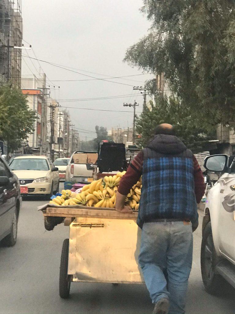 A man with a banana stand 768x1024 - Dani Mundy: A TEFL trainer in Kurdistan
