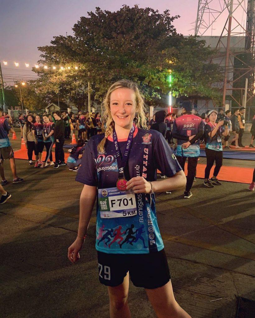Finish line 819x1024 - TEFL in Asia - Meet Emma Hughes