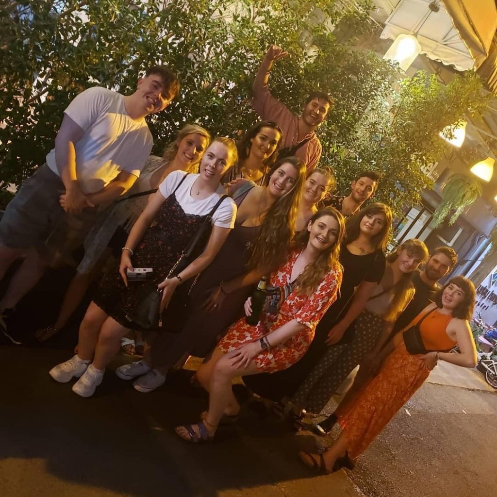 Group of TEFL teachers in Thailand