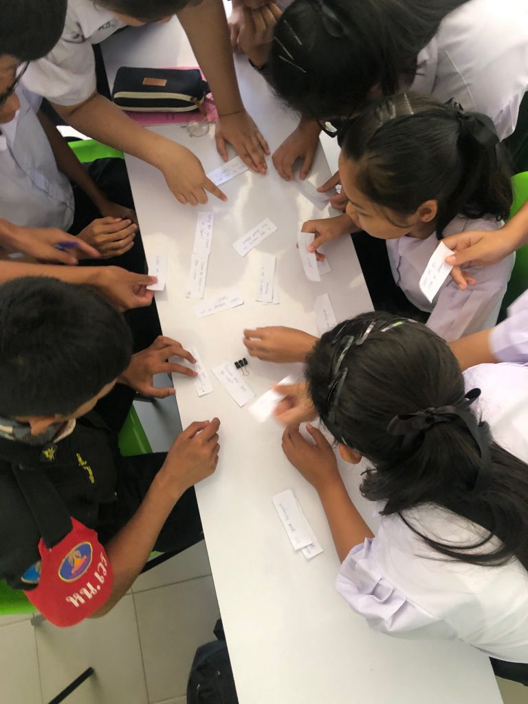 TEFL Classroom activities with students