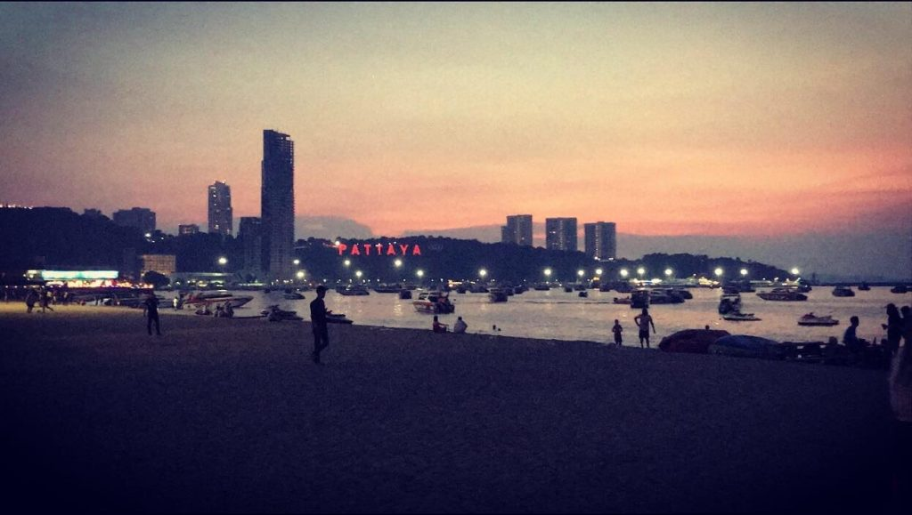 Thai beach at night looking over boats 1024x579 - Two Time TEFL Teacher! Meet Jessica Neal