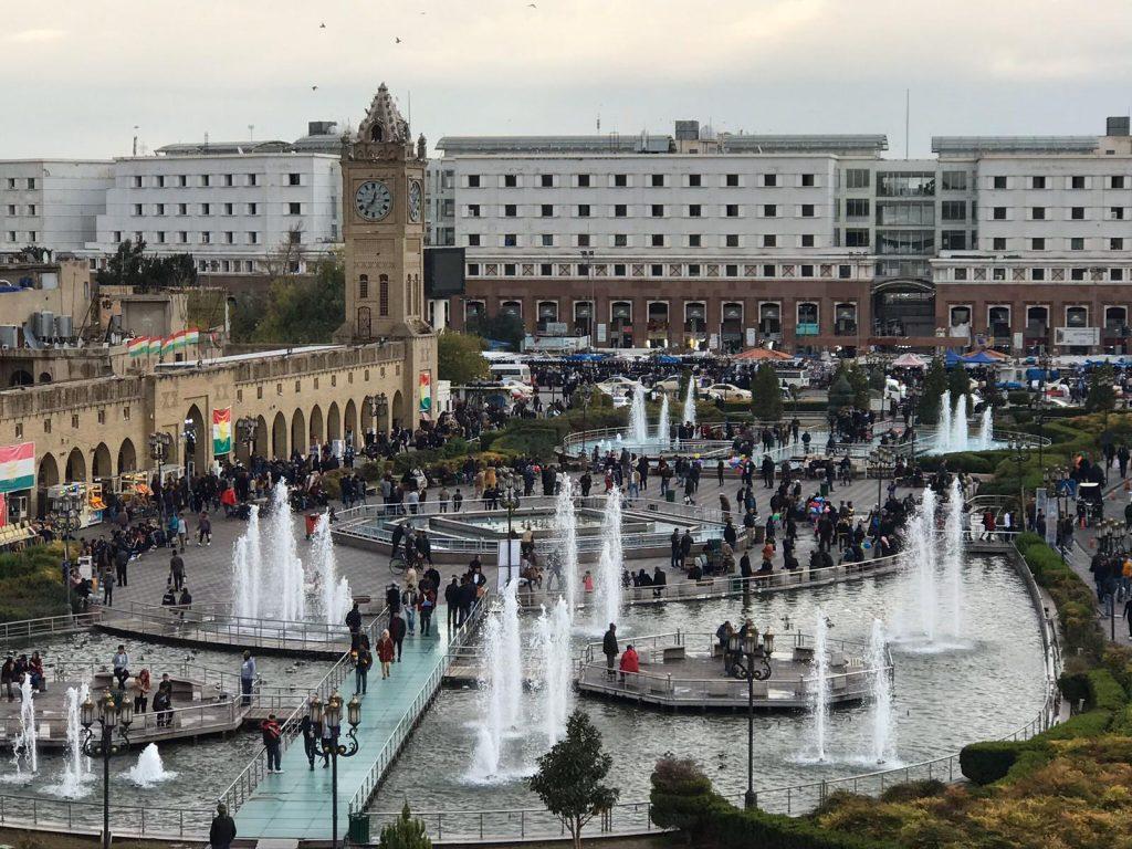 Town square 1024x768 - Dani Mundy: A TEFL trainer in Kurdistan