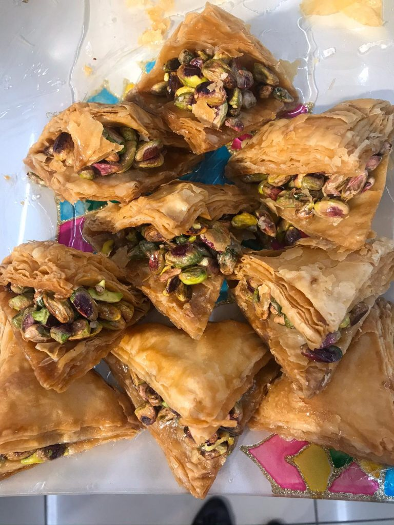 Traditional food 768x1024 - Dani Mundy: A TEFL trainer in Kurdistan