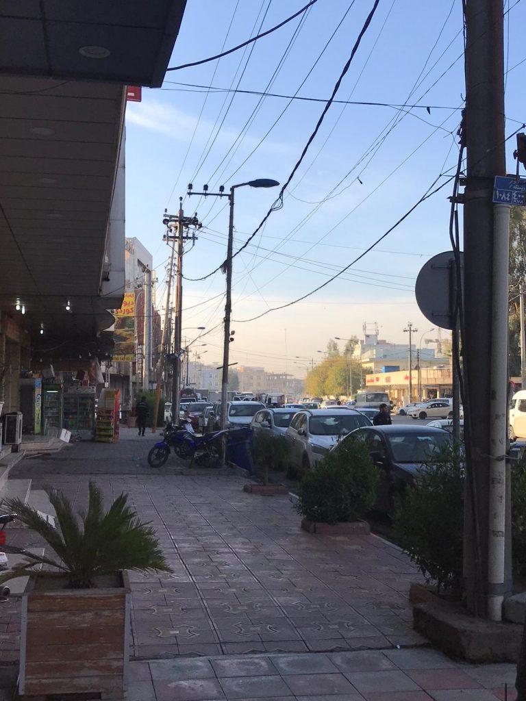 Traffic 768x1024 - Dani Mundy: A TEFL trainer in Kurdistan