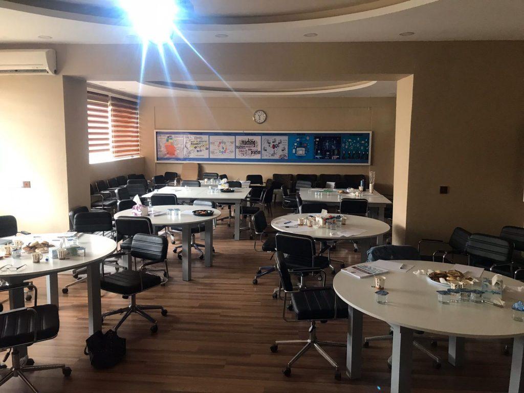 Training classroom 1024x768 - Dani Mundy: A TEFL trainer in Kurdistan