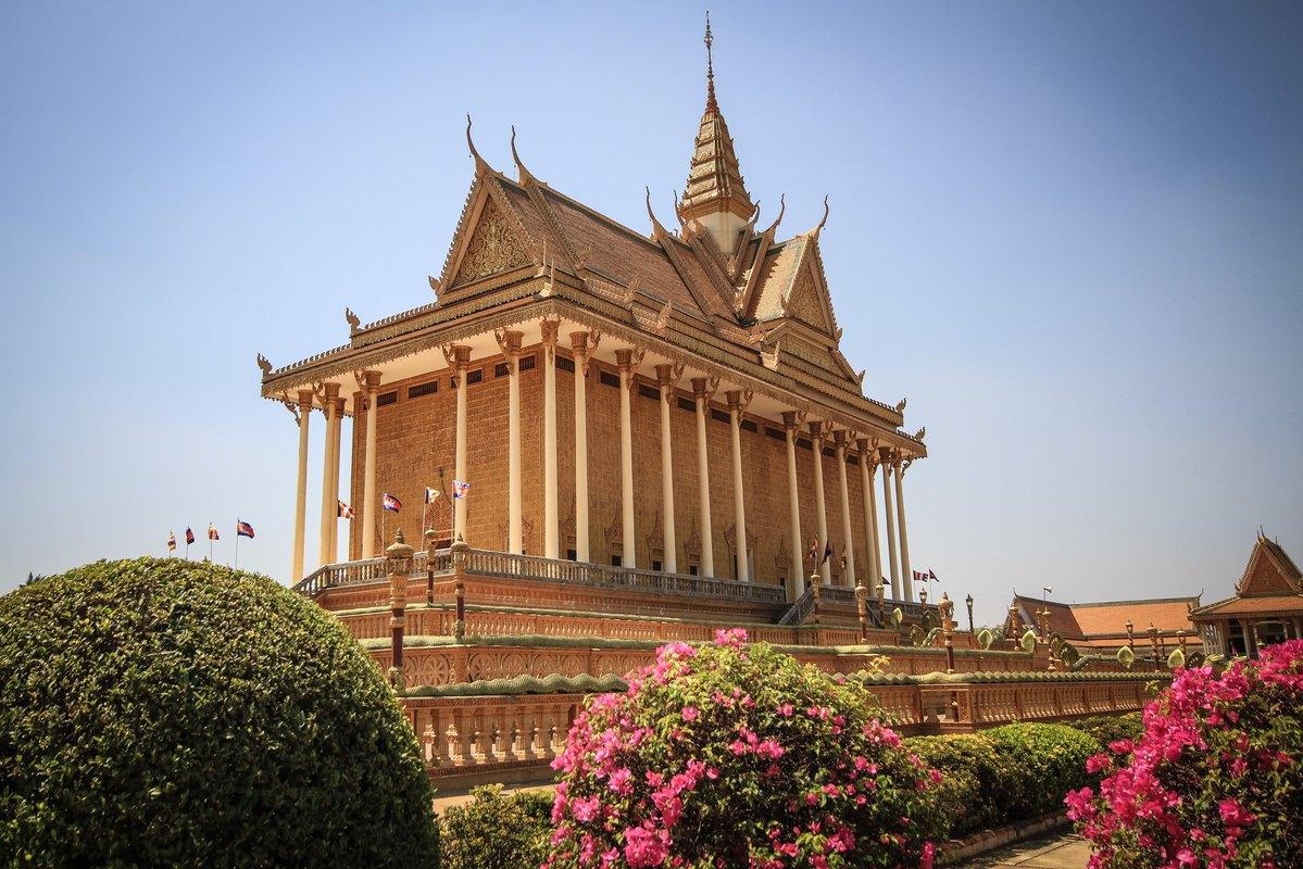 Cambodian tourist building