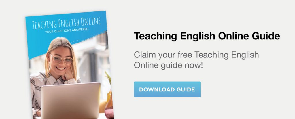 Teach English online