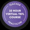 Teacher 10 hour Virtual TEFL course practicum