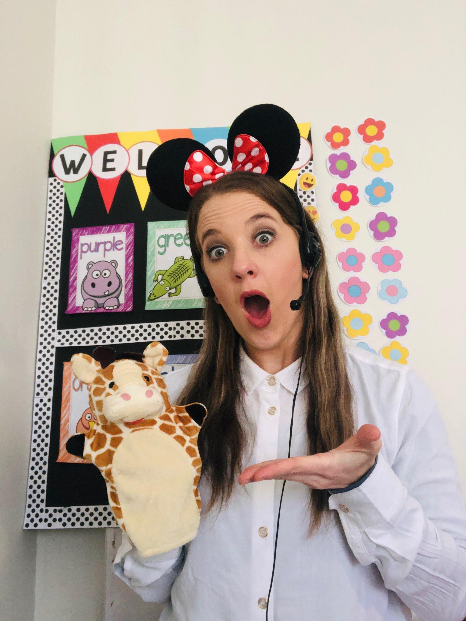 Teacher Melissa in the classroom/classroom management tips