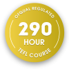 290 hour OFQUAL regulated TEFL course