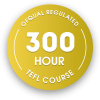 300 hour OFQUAL regulated TEFL course