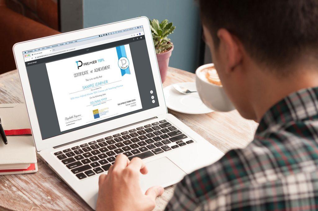 300 hour Hybrid TEFL Certificate