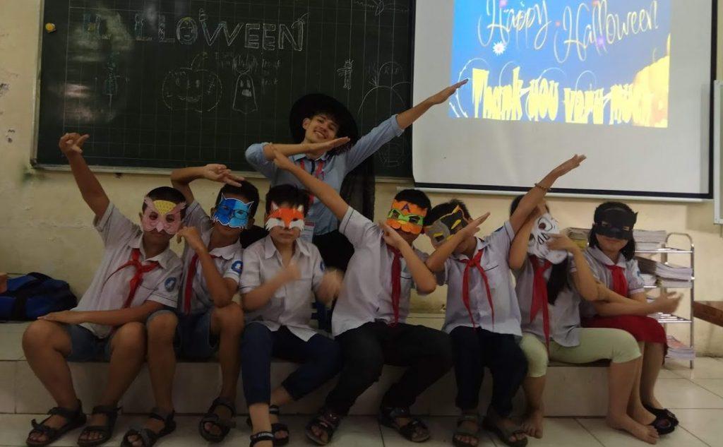 Will Davies Vietnam classroom