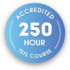 250 hour accredited TEFL course