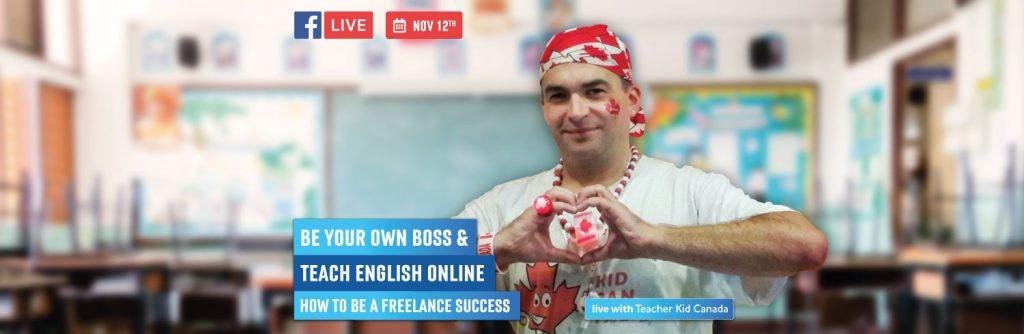 Teacher Kid Canada live webinar