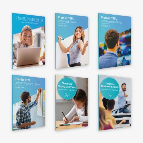 Premier TEFL guide bundle