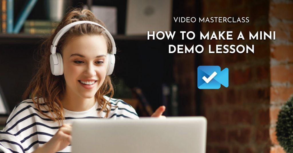 masterclass demo video