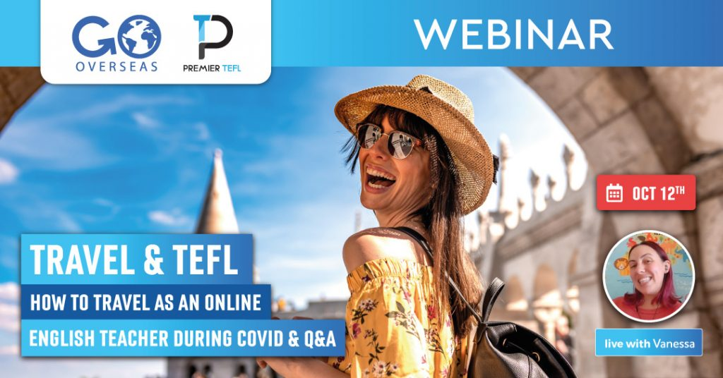 travel and teach tefl webinar