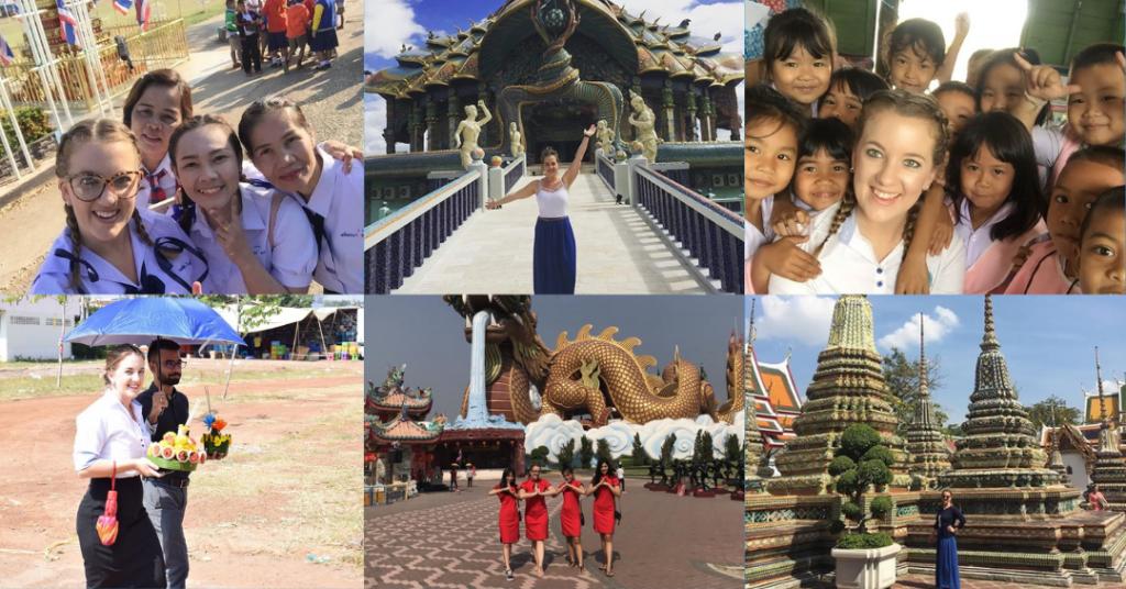 Collage of Melissa Thailand internship