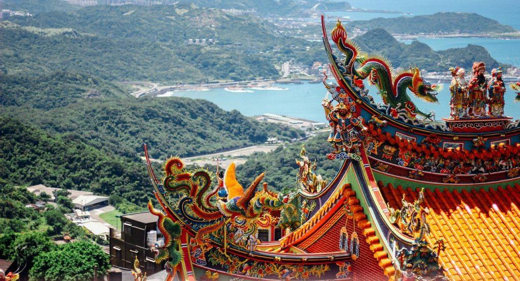 Jiufen Taipei Shifen Taiwan TEFL